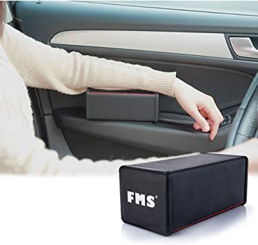 A.B Crew Breathable Soft Memory Foam Car Armrest Center Consoles Cushion All Seasons Universal Auto Seat Cushion Black