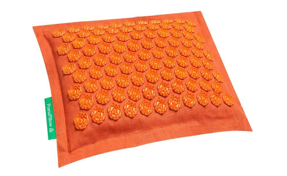 PranaPillow Massage / Acupressure Pillow (Orange Orange)
