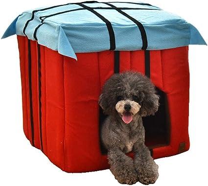 Amazon.com: eyessssty - 1 cama para mascotas, casa para ...