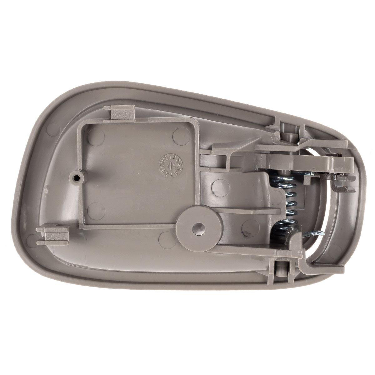 AUTEX 8pcs Exterior Interior Door Handles Front Rear Right Left Driver Passenger Side Door Handle Set Compatible with Toyota Corolla,Chevrolet Prizm 1998 1999 2000 2001 2002 80889 79501