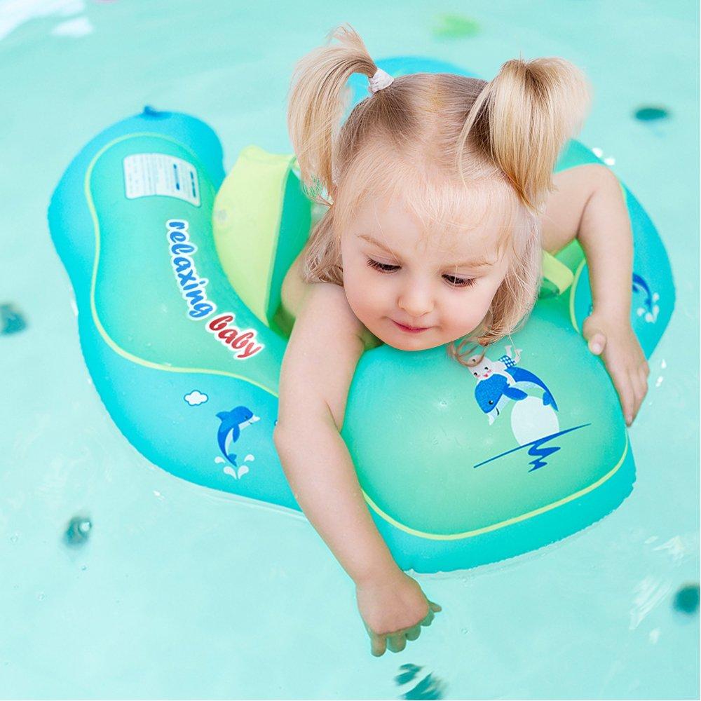 LUXJET Flotadores para Bebés, Flotador De Natación para Bebé para Niños de 6-30meses (L)