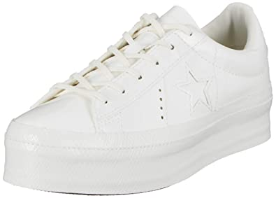 0eda57a5769b30 Image Unavailable. Image not available for. Color  Converse Women s One  Star Platform ...