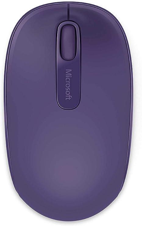 Microsoft – Wireless Mobile Mouse 1850 Morado: Amazon.es ...