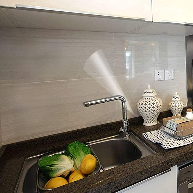 Self Adhesive Kitchen Oil Proof Stickers ✅ Oilproof ✅ Waterproof ✅ Fireproof