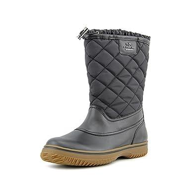 Coach Samara Black Aniline Leather/nylon Boot Women Size 6.5 M