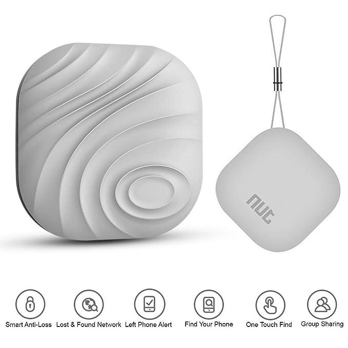 Mini Nut 3 Localizador y rastreador Bluetooth de Llaves, móvil, Cartera o Mascotas, para Android e iOS (Gris): Amazon.es: Electrónica