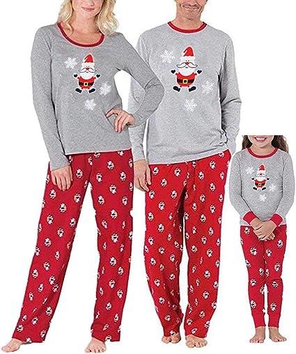 Conjunto de pijamas navideños a juego para familia, para adultos, mujeres, hombres y niños multicolor multicolor Papa M