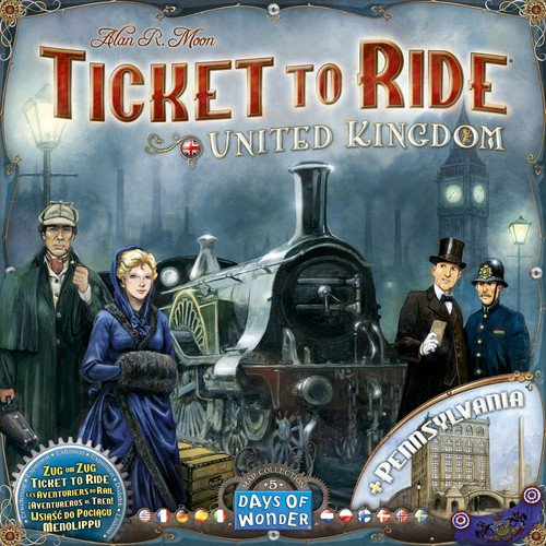 Days of Wonder Ticket to Ride: Map Collection Volume 5 - United Kingdom