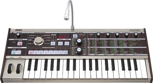 Amazon Com Korg Microkorg 37 Key Analog Modeling Synthesizer With Vocoder Musical Instruments