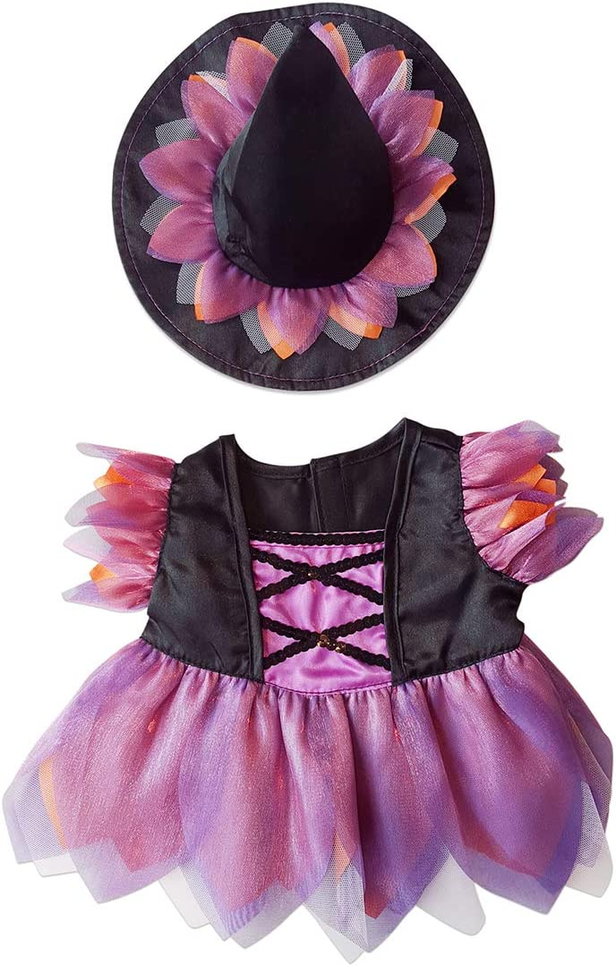 Build a Bear outfit Halloween outfit Witch doll clothes stuffed animals