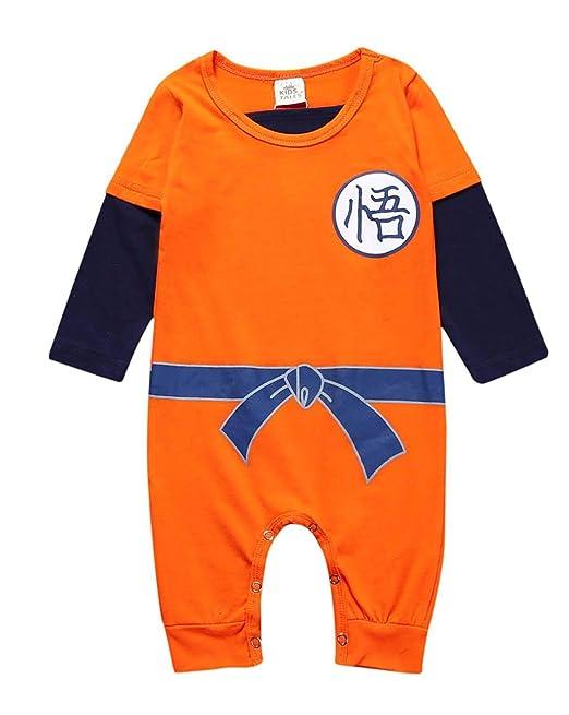 Askong Baby Boys Halloween Cosplay Dragon Ball Z Son Goku ...