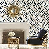 RoomMates RMK9002WP Peel and Stick Wallpaper, 20.5'' x 16.5 Feet, Blue