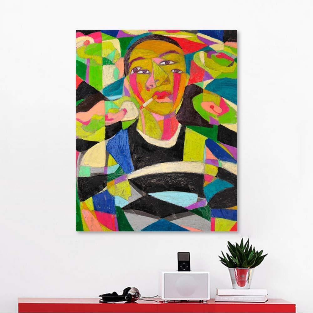 Pmhhc Frameless Malen Nach Zahlen Kunst Malen Nach Zahlen Abstrakt Cartoon Schönheit B07PC2B2BT | eine große Vielfalt
