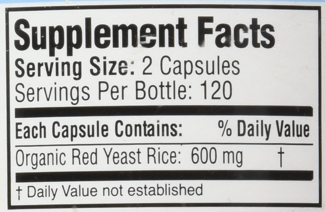 Traditional Supplements Red Yeast Rice