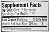 Traditional Supplements Red Yeast Rice 240 caps