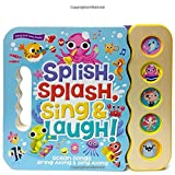 Splish, Splash, Sing & Laugh: Interactive Children's Sound Book (5 Button Sound)