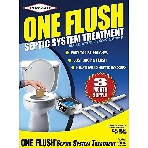 PRO-LAB ON1024 One Flush Septic Treatment 3 Month - Three Month Supply