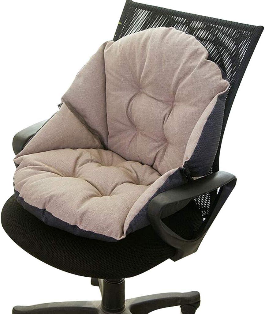 Autre LXXTI Coussins de chaise et coussins 48X40cm coussin dassise pour fauteuil ou voiture beige coussin rehausseur en coton /épais coussin de si/ège doux pour canap/é chaise de bureau