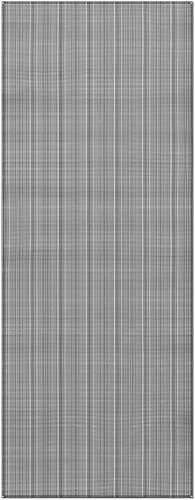 Prest-O-Fit 2-3033 Aero-Weave Breathable Outdoor Mat – 7.5 x 20 , Gunmetal Gray