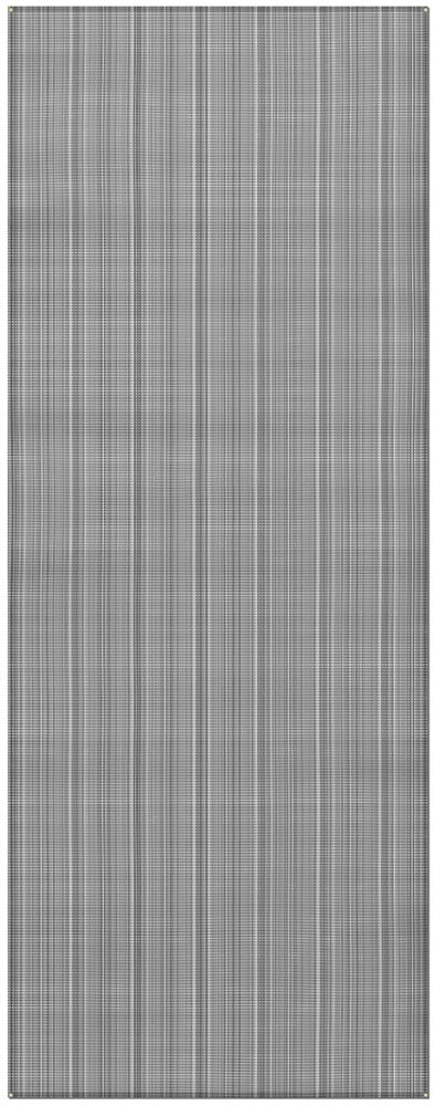 Prest-O-Fit 2-3033 Aero-Weave Breathable Outdoor Mat-7.5' x 20', Gunmetal Gray