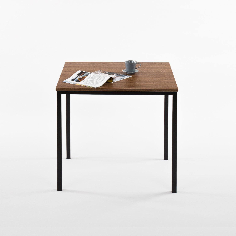 Zinus Umer Modern Studio Collection Soho Square Table Espresso OLB-DS-3029GB