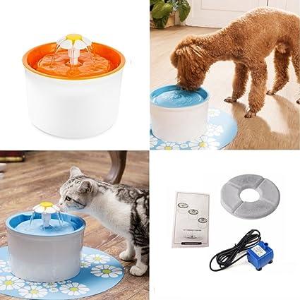 Alimentador de agua para gatos y perros Pet Mate para fuente de alimentación automática, para