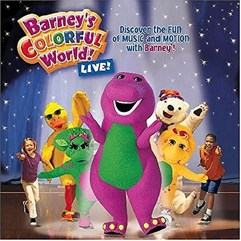 Barney's Colorful World: Live (Barney Sing A Long Songs Cd)