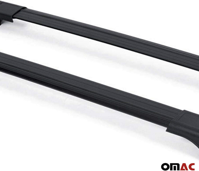 Omac Gmbh Dachträger Für C4 Cactus 2014 2020 Gepäckträger Relingtrager Aluminium Schwarz Auto