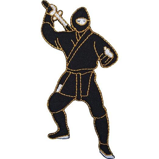 Ninja parche bordado insignia Japón hierro encendido/sew en ...