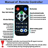 Sound Activated Party Lights with Remote Control Dj