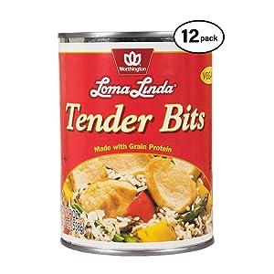 Loma Linda - Plant-Based - Tender Bits (19 oz.) (Pack of 12) - Kosher