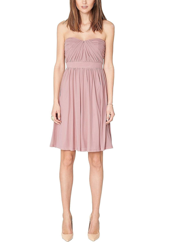 s.Oliver Premium Damen Bustier Kleid 29.502.82.2536, Knielang, Einfarbig