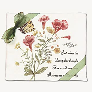 product image for Alice's Cottage AC34408 Yellow Swallowtail Flour Sack Towel (Set of 2)