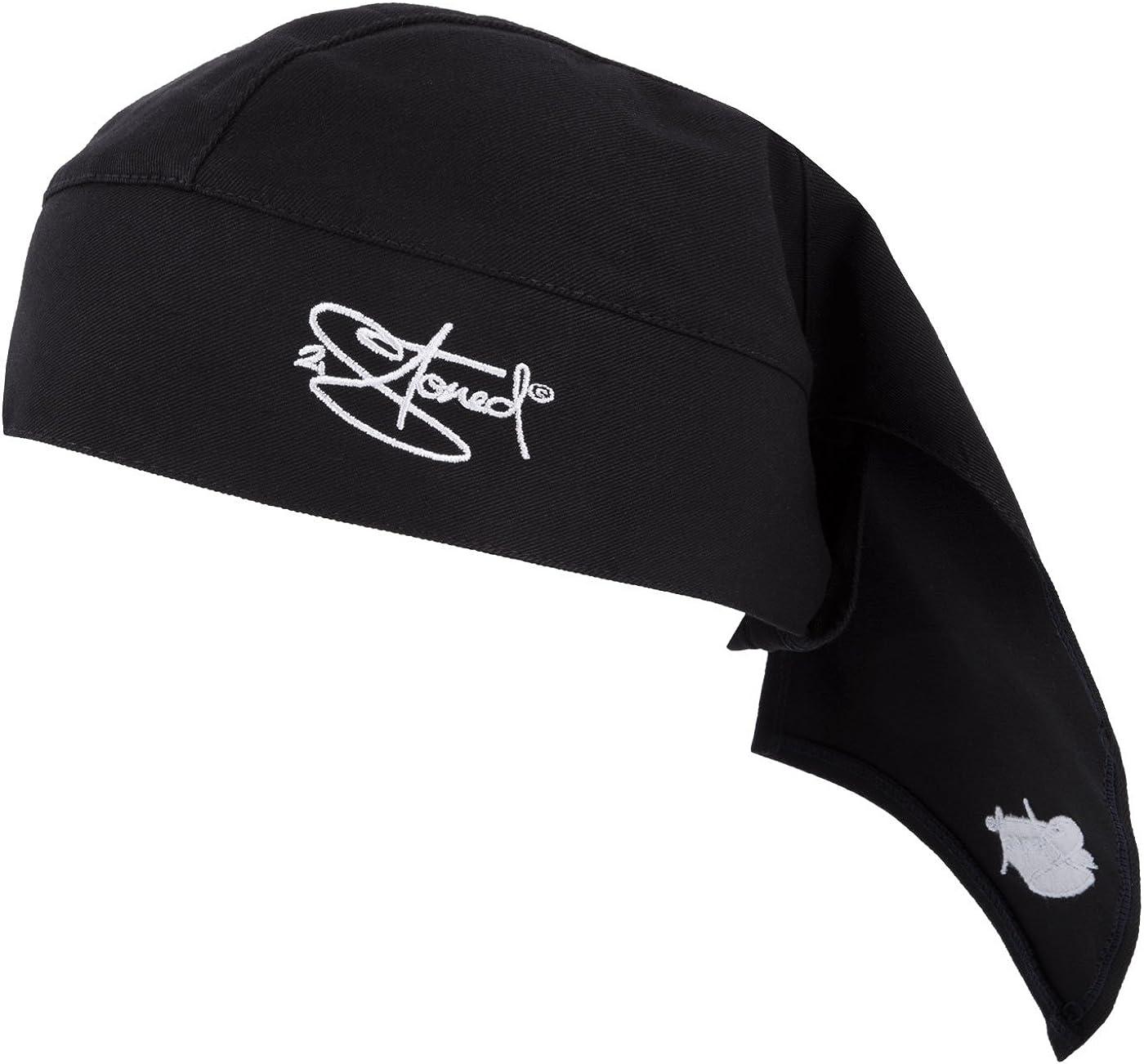 2Stoned Bandana Kopftuch Crown in Dark Navy mit Stick f/ür Damen Herren und Kinder