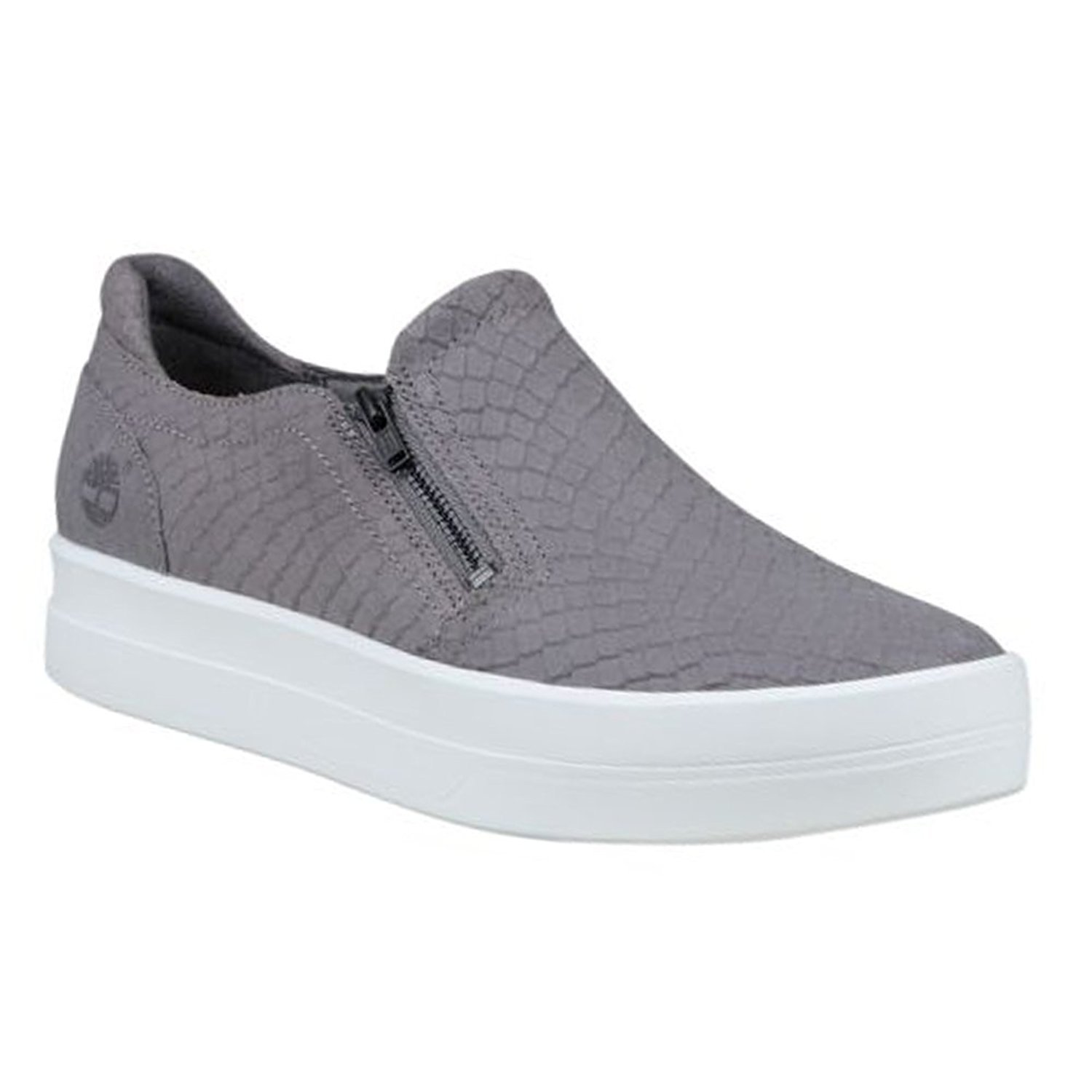 Timberland Womens Mayliss Low Top Slip On Fashion Sneakers, Grey, Size 9.0