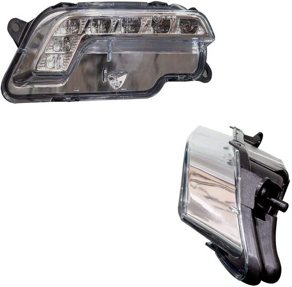 Nrpfell Controlador de Luces LED de Niebla Diurna para Mercedes W212 E300 E350 E500 E550 09-13 2128200856 Derecha