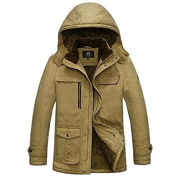 Abrigo de los hombres, chaqueta de invierno, chaquetas de ...