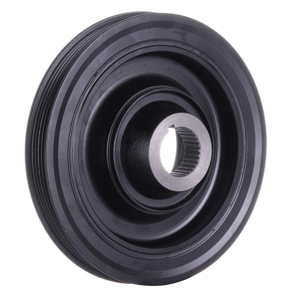ROADFAR Crankshaft Pulley Compatible for 1990-1993 HondaAccord 1992-1995 HondaPrelude