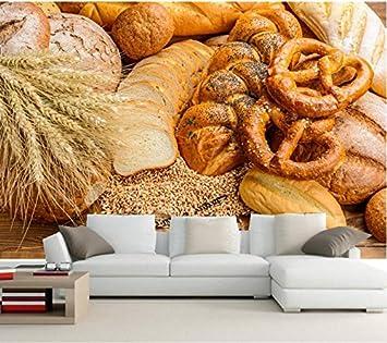 Yosot Benutzerdefinierte Foto 3d Wandbild Brot Brot Brotchen Ohr