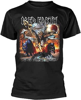 Iced Earth 'Something Wicked' (Negro) Camiseta