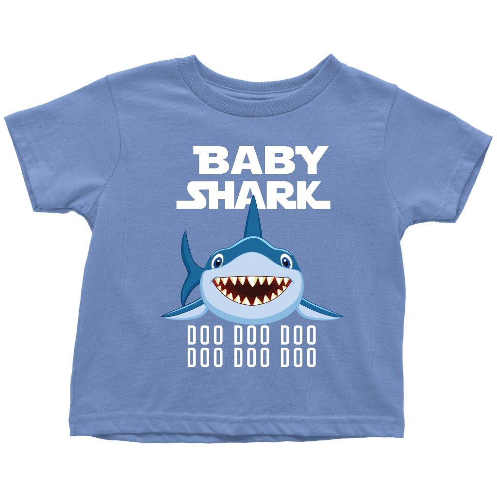 4a3788823 Amazon.com: VnSupertramp Baby Shark Toddler Shirt Doo Doo Doo for Kids Boys  Girl Shark Song Party Birthday Gift: Clothing