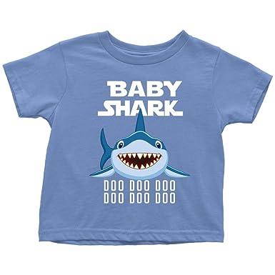 fcbf6b947 Amazon.com: VnSupertramp Baby Shark Toddler Shirt Doo Doo Doo for ...