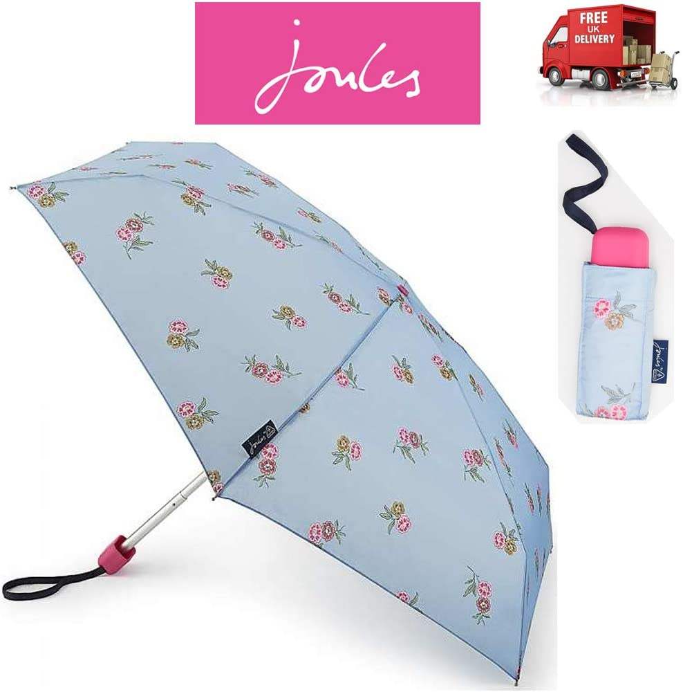 Joules Grape Leaf Harvest Compact Minilite Folding Handbag Size Umbrella 8F3765