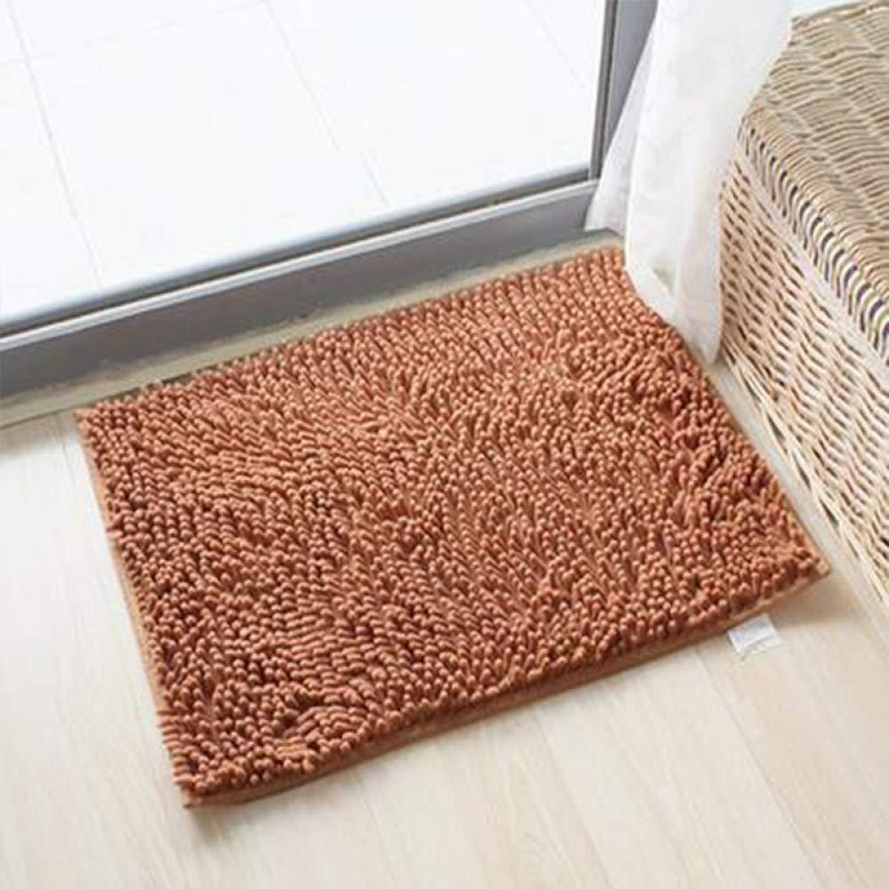 PLLP Floor Mat, Bathroom Mat, Toilet Door Absorbing Door Mat Custom Foyer Door Bedroom Kitchen Mat,B,4060cm