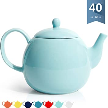 Amazon.com: Tetera para dulces, de porcelana – 473 ml / 428 ...