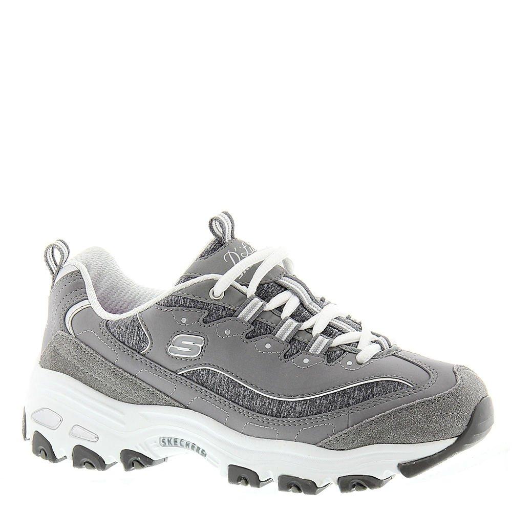 Skechers Sport D'Lites-Me Times Women's Sneaker 10 B(M) US Grey