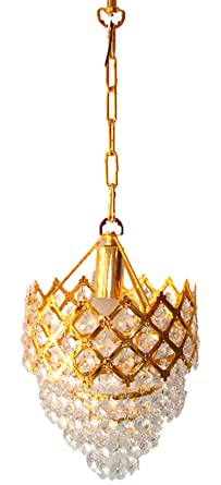 Buy rck designer small chandelier golden online at low prices in rck designer small chandeliergolden aloadofball Gallery