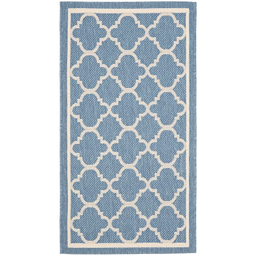 Cheap  Safavieh Courtyard Collection CY6918-243 Blue and Beige Indoor/ Outdoor Area Rug (2'..