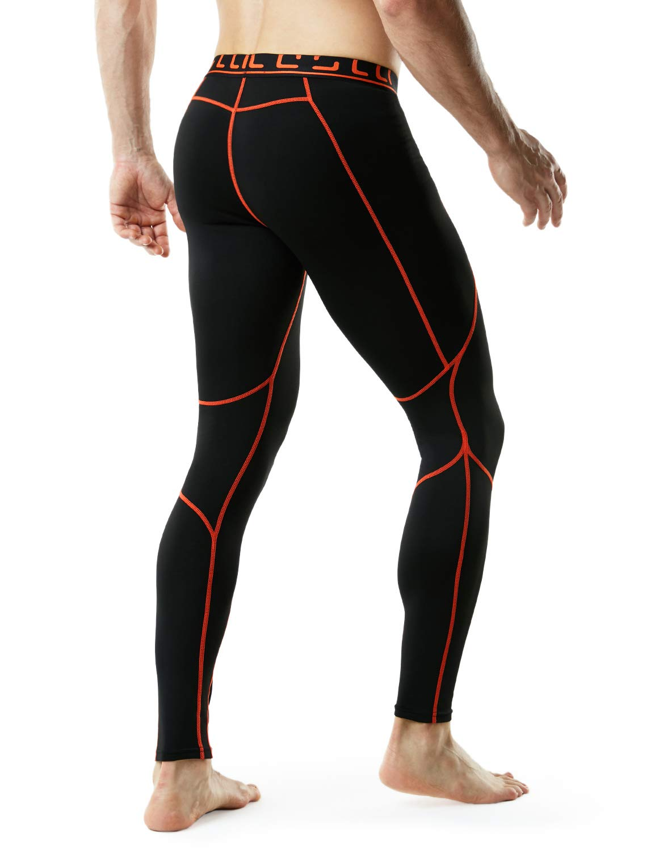 TM-YUP43-KOG_2X-Large Tesla Men's Thermal Wintergear Compression Baselayer Pants Leggings Tights YUP43 by TSLA (Image #5)