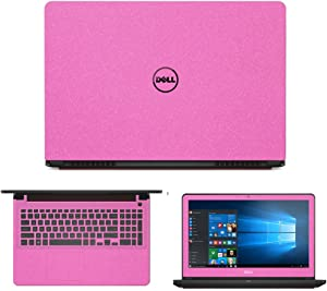 "Sparkling Pink Skin Decal wrap Skin Case for Dell Inspiron 15 7559 15.6"" Laptop"